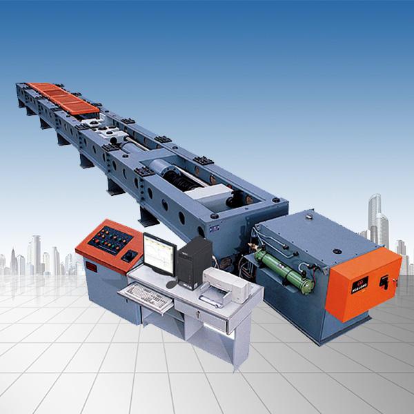 600KN微机控制电液伺服卧式拉力试验机