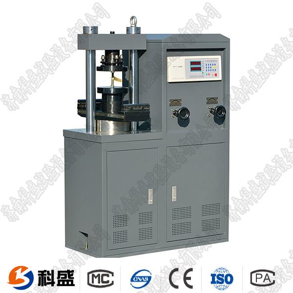 30吨数显shuini胶砂红砖专yong液压压力shiyan机