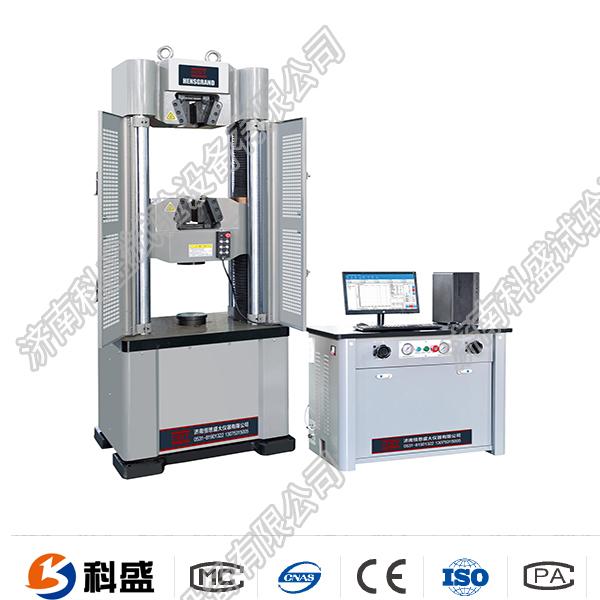 WEW-600D(B、C)/60吨/600Kn微机ping显shi液压万能试验机